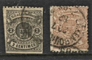 STAMP STATION PERTH Luxembourg #2 Early Stamps Used - See Scan - Unchecked