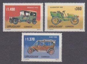 1991 Uruguay 1925-1927 Cars 9,50 €
