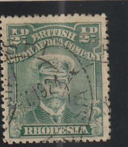 Rhodesia  Scott#  119  Used