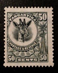 Tanganyika Scott 21 Giraffe Definitive 50 Cent-NG