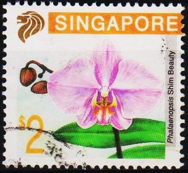 Singapore. 1992 $2 S.G.675  Fine Used