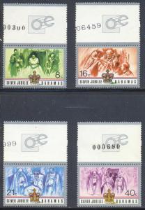 Barbuda MNH 402-5 Silver Jubilee 1974
