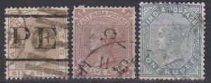 India #33-5 F-VF Used CV $60.00  (B9289)
