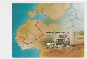 Republique Du Mali 1983 Rallye Paris- Mint Never Hinged Stamps Sheet ref R 18733