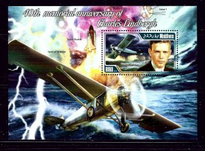 Maldive Is 3115 MNH 2014 Charles Lindbergh S/S