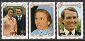 Cook Islands 369-371 MNH VF