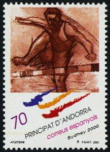 Andorra SP 266 MNH Summer Olympics, Athletics