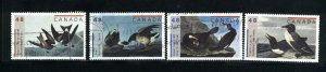 Canada #1979-82   -2   used VF 2003 PD