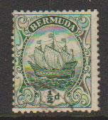 Bermuda SG 45a  perf 14 good used  see description details