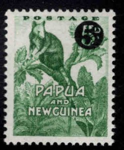 Papua Scott 147 Used 1959 surcharged stamp