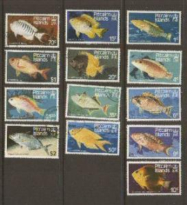 Pitcairn Is #231-43 mint/used