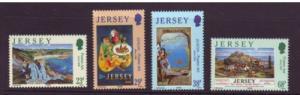 Jersey Sc 1071-4 2003 Europa Poster Art stamp set mint NH