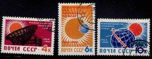 Russia Scott 2839-2841 Used CTO stamp set