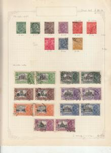 INDIA 1931 GEORGE 5TH NEW DELHI SET IN PAIRS USED +SG232-239 USED