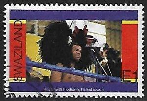 Swaziland # 682 - King Mswati III - used....{BRN17}
