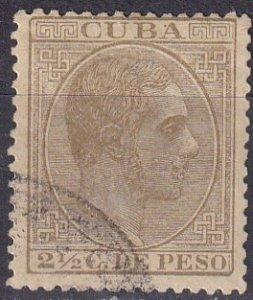 Cuba #102 F-VF   Used CV $5.00 (Z4676)