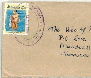 Jamaica Cover *Awberry PO* Violet TRD Church Radio 1990{samwells-covers}CS48