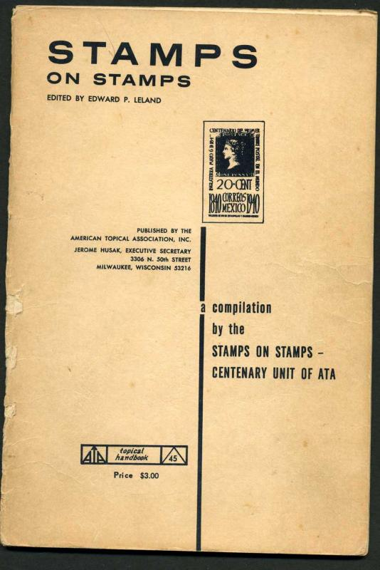 ATA book for topical Stamps on stamps