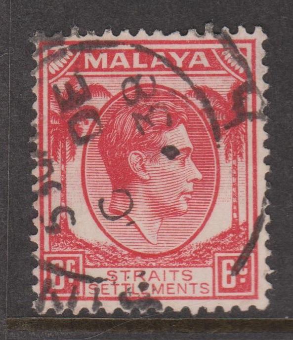 Straits Settlements Sc#242 Used