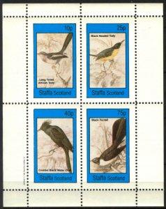{ST311} Staffa Scotland Birds (6) Sh.4 MNH Local Cinderella !!