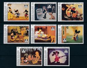 [22482] Grenada Grenadines 1993 Disney Mickey Mouse Pluto Movie Clips MNH