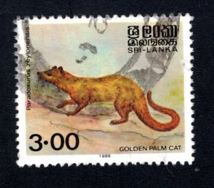 Sri Lanka #729,    VF, Used,  CV $5.50 ....  1290588