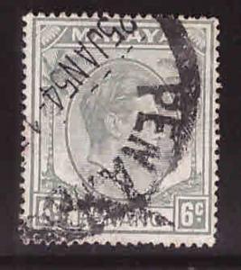 MALAYA Penang Scott 8 used 1949-52