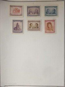 O) 1960 CHILE, JOSE AGUSTIN EYZAGUIRRE -JOSE MIGUEL INFANTE, JOSE GASPAR MARIN