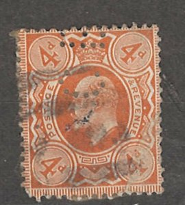 COLLECTION LOT # 4253 GREAT BRITAIN #144 1910 CV+$16