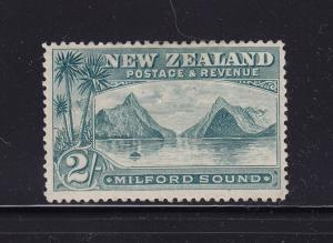 New Zealand Scott # 82 VF OG mint hinged nice color scv $ 300 ! see pic !