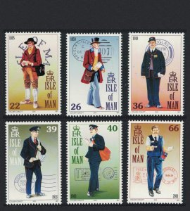 Isle of Man Postal Uniforms 6v SG#929-934