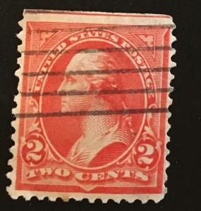 267 Triangles Series, DLM, TIII, Circulated Single, Vic's Stamp Stash