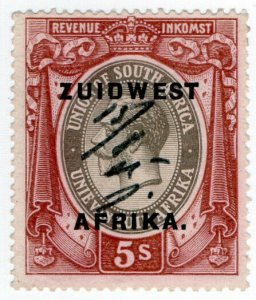 (I.B) South-West Africa Revenue : Duty Stamp 5/-