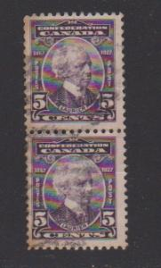 CANADA SIR WILFRID LAURIER STAMP USED #144 LOT#717