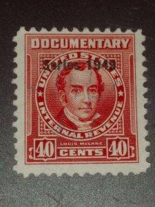 USA #R520 40c Carmine 1949 used