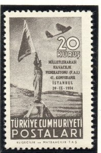 Turkey 1954 Early Issue Fine Mint Hinged 20k. NW-18201