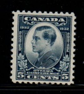 Canada Sc 193 1932 5 c Prince of Wales stamp mint