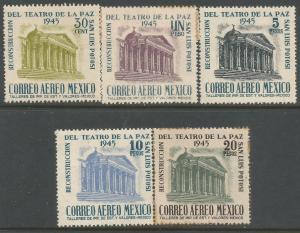 MEXICO C148-C152 MOG/MNH 173F