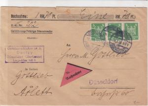 german 1926 stamps cover  ref 18870