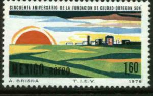 MEXICO C576, 50th Anniv of Ciudad Obregon. MINT, NH. F-VF.