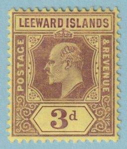 LEEWARD ISLANDS 34 MINT HINGED OG *  NO FAULTS EXTRA FINE