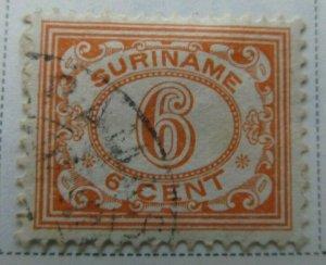 Surinam 1931 6c Fine Used A13P9F942