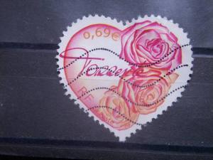 FRANCE, 2003, used 69c, Roses, Scott 2927
