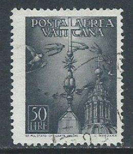 Vatican City, Sc #C14, 50 l, Used