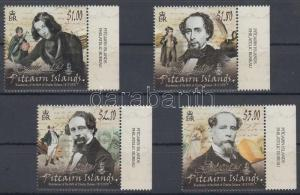 Pitcairn Islands stamp 200th birth anniversary of Charles Dickens MNH WS124801