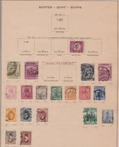 egypt early stamps ref 10930