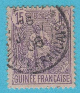 FRENCH GUINEA 23 USED   NO FAULTS VERY FINE !
