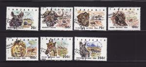 Tanzania 1185-1191 Set U Animals
