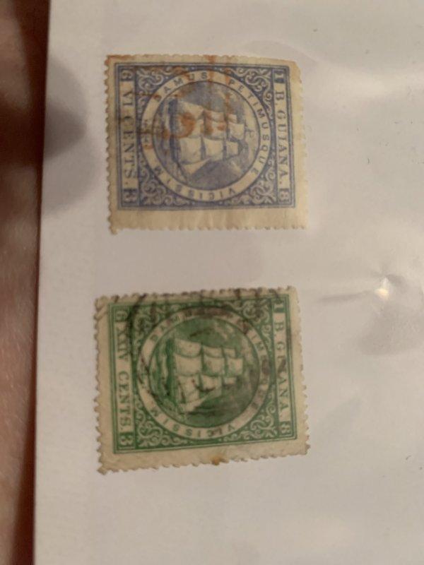 Br. Guiana 70-1 U