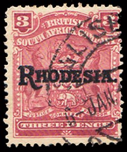 Rhodesia Scott 86 Used.